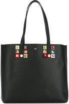 Fendi embellished tote - women - Calf Leather/Acrylic - One Size