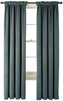 Asstd National Brand Bliss Velvet Back-Tab Curtain Panel