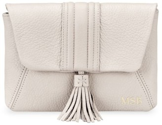 GiGi New York Ava Embossed Leather Crossbody Bag