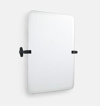 Rejuvenation Tolson Frameless Rounded Rectangle Pivot Mirror