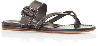 Marion Parke Hayley Leather Flat Sandals