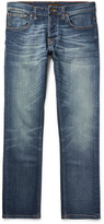 Nudie Jeans - Grim Tim Slim-fit Organic Stretch-denim Jeans