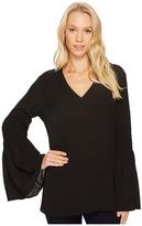 MICHAEL Michael Kors Bell Sleeve Tunic Women's Blouse