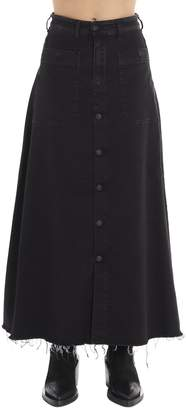 Diesel Maxi Denim Skirt