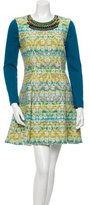 Matthew Williamson Embellished Patterned Dress