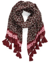 Kate Spade Women's Floral Tile Scarf