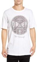 Obey Men's 'Under Pressure' Graphic Crewneck T-Shirt
