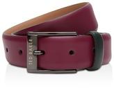 Ted Baker Wilson Leather Color Block Belt