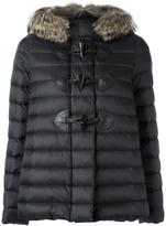RED Valentino padded jacket - women - Feather Down/Leather/Polyamide/Feather - 40