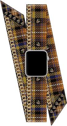 Wristpop Tartan Amber 38mm/40mm Apple Watch(R) Scarf Watch Band