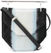 M2Malletier pony hair crossbody bag - women - Leather/Calf Hair - One Size