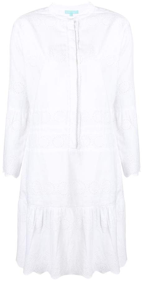 Melissa Odabash embroidered shirt dress