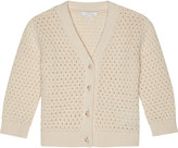 Chloé Knitted cotton-blend cardigan 6-36 months