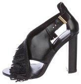 Jason Wu Leather Fringe Sandals