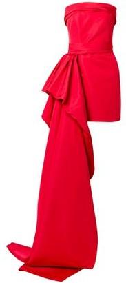 Reem Acra Silk-faille Mini Dress