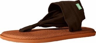 Sanuk Yoga Sling 2 Metallic LX Chocolate Brown/Metallic Bronze 8