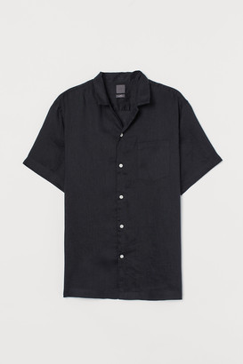 H&M Linen Resort Shirt