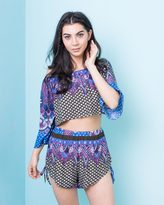 Missy Empire Kendi Paisley Print Crop Top And Short