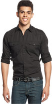 American Rag Men's Cadet Solid Shirt
