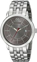 88 Rue du Rhone Men's 87WA140025 Analog Display Swiss Quartz Silver Watch