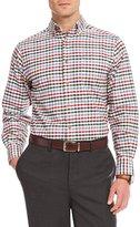 Daniel Cremieux Big & Tall Check Oxford Long-Sleeve Woven Shirt