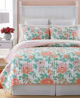 Martha Stewart Collection Village Peony Twin Quilt