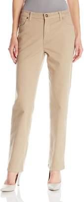 Gloria Vanderbilt Women's Amanda Straight Leg Jean In Black