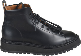 Buttero Classic Lace-up Boots