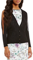 Antonio Melani Marcella Knit Cutout Cardigan