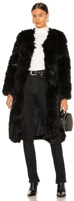 Nookie Tatiana Faux Fur Long Jacket