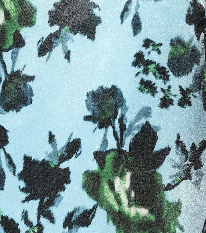 Thumbnail for your product : Erdem Vivianne floral satin dress