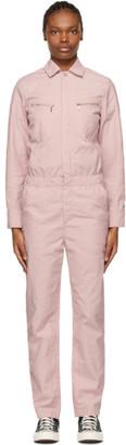 Carhartt Work In Progress Pink Boiler Jumpsuit