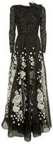 Andrew Gn Floral Embellished Maxi Gown