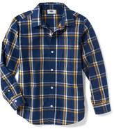 Old Navy Classic Plaid Button-Front Shirt for Boys
