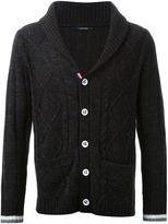 GUILD PRIME cable knit button cardigan