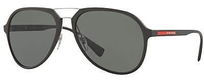Prada Linea Rossa PS 05RS Polarised Aviator Sunglasses