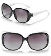 MARC BY MARC JACOBS Colorblock Logo Sunglasses