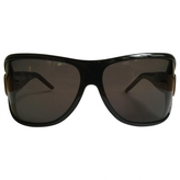 Max Mara Black Plastic Sunglasses