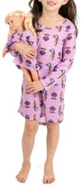 Leveret Mermaid Nightgown & Matching Doll Nightgown (Toddler, Little Girls, & Big Girls)