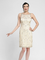 Sue Wong N3419 Bateau Neck Embellished Cocktail Dress