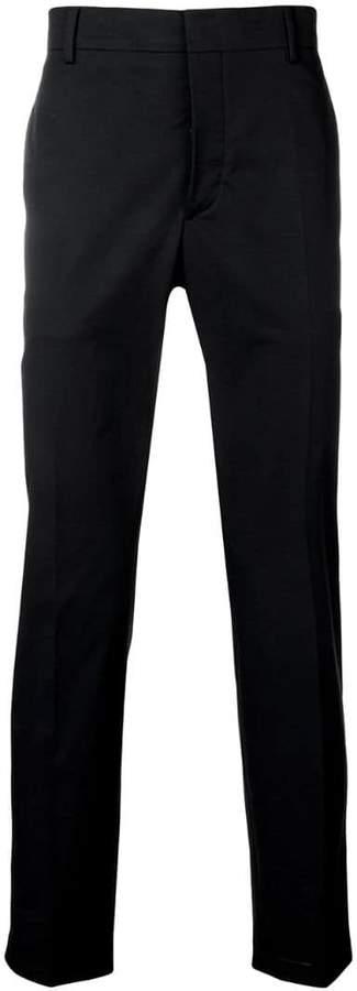 Prada mid-rise tailored trousers