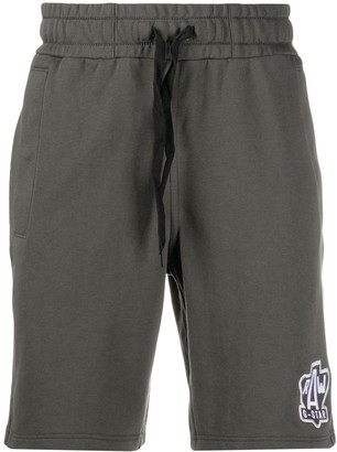 G Star Embroidered Logo Track Shorts