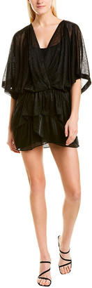 IRO Wide Sheer Mini Dress