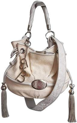 Lancel Brigitte Bardot Beige Tweed Handbags
