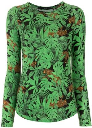 Eva Floresta printed blouse