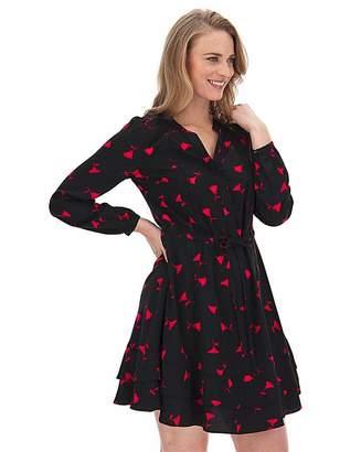 Oasis Curve Rose Bud Shirt Dress