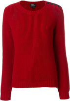 A.P.C. side buttoned knit jumper
