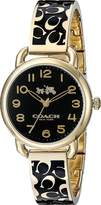 Coach Women's Delancey 28mm Bangle Watch / Watch