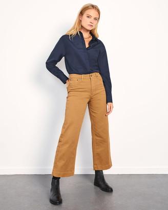Jigsaw Tyne Wide Leg Crop Jean