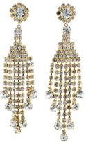 Dolce & Gabbana Crystal Chandelier Earrings